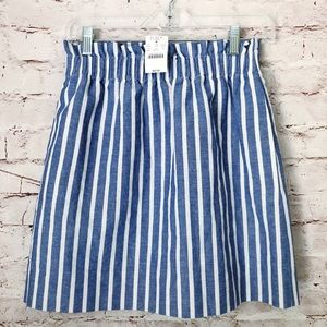 NWT J CREW | striped boho costal skirt career 2